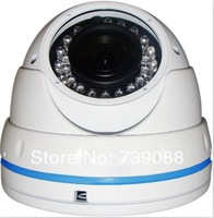 Aokwe high quality 1200TVL IR vandalproof dome camera with good price PAL/NTSC 2.8-12mm varifocal lens