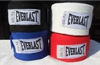 1 Pair 2pcs Boxing Hand Wraps Wrist Bandages Strap Fist Punching boxing gloves Cotton 6 Colors 2.8M