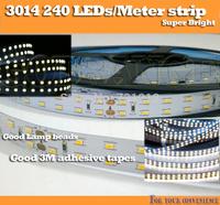 Wholesale High Quality 5M/roll 3014 240 led Strip SMD DC24V 144W Super Bright lighting Flexible White Strip Light lamp belt