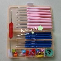 Free Shipping Hook needle combination kit needle sweater knitted tools yarn needle knitting tool hook needle set
