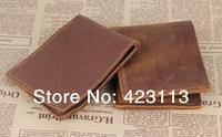 Bifold Wallet Men's Genuine Leather horsehide wallet