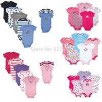 New 2014 Carter Clothing Newborn Bebe Baby Boy Girl Romper Short sleeve Baby Overall 100% Cotton
