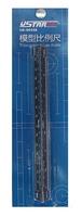 U-STAR Triangular Scale Ruler, UA-90038, With Scale of 1/12 1/24 1/32 1/35 1/48 1/72, Length of 17cm