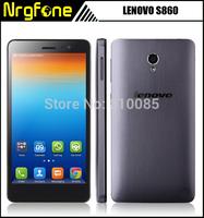 "Original Lenovo S860 5.3"" IPS HD 1280x720 Quad Core Mobile Phone MTK6582 1.3GHz Android 4.2 1GB RAM 16GB ROM 4000mAh"