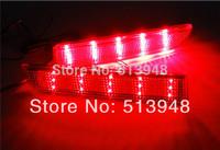 Red lens LED Rear Bumper Reflectors Tail/Brake Light 2008 and up Lancer&Evolution X;2011+ Outlander