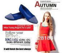 New 2014 Fashion shoes Women party shoes Women flats Drill shoes Don`t buy You regret shoes Free shipping