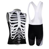 New 2014 sleeveless Cycling Jersey/cycling clothing Bike Wear shirt+Bib Shorts Sets mens breathable quick dry Summer S-3XL
