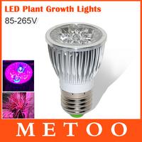 10W full spectrum grow lamp E27 110V 220V led grow lights for flowering hydroponics system,1pcs