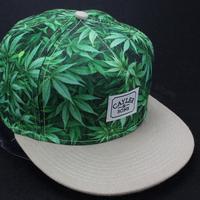 2014 new green leaf adjustable fashion snapback hats and caps for men/women brand sport hip hop cotton mens/womens sun cap cheap
