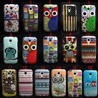 Owl Tribal Pattern Tpu Gel Soft Skin Case Cover  For Samsung Galaxy S4 Mini i9190
