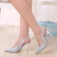 2014 Open Toe Sapatos Femininos Sandalias Lady's High Heels Peep Toe Sweetness Pumps Sandal Female Thin Open Shoes for Women