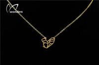 10pcS/1lot Europe fashion jewelry high quality Stainless Steel Australia kangaroo necklace pendant