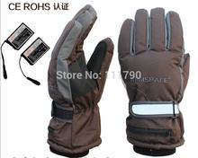 wholesale battery heated ski gloves