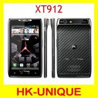 Original Unlocked Motorola XT912/XT912 maxx cell phones Dual Core ROM 16GB 8.0MP Camera Bluetooth free shipping