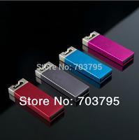 Free DHL shipping Wholesale custom metal Mini USB Flash Drive memory stick 128MB/256MB/512M/1GB/2GB/4GB/8GB/16G/32GB  100pcs/lot