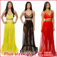 Hot sale!New 2014 Womens Celebrity Midi Bodycon dress Ladies  sexy party bandage dress, long  Chiffon Two pieces Dress YQ018