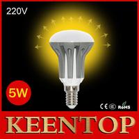 R39 Mini E14 LED Lamps 2835Chip AC220V 5W High Power Ball Bulb Crystal Chandelier LED Lighting Solar Pendant Wall Lights 6PCS