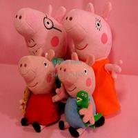 Peppa Pig Toys Baby Anime Toys Pepa Pig Peppa Pig Plush Toys Family Stuffed Doll Set Gift For Chilren #7 CB014680