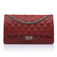 Hot Sale famous brand designer genuine leather handbag Fashion Women's 2.55 Double Quilted Flap Bag Classic 1112 Plaid Chain Bag