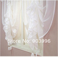"""Fashion curtain BEST quality finished product sheer curtain tulle panel-FREE SHIPPING  55""""Width *102""""Hight more size available"""