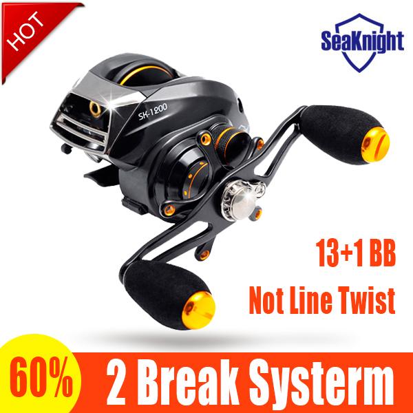 SeaKnight SK1200 baitcasting reel 14 ball bearings carp fishing gear Left Right Hand bait casting fishing reel(China (Mainland))