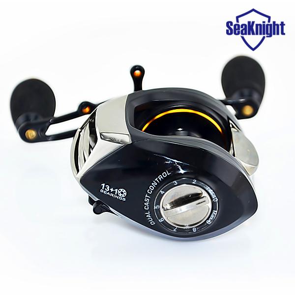 SeaKnight SK1200 baitcasting reel 14 ball bearings carp fishing gear Left Right Hand bait casting fishing