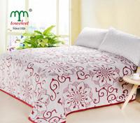 "Spring 2014 Best Selling -1PC 150*200CM(59""*79"") Flannel Fleece Blanket  Warm Adults Bedding Set/Sheet  Queen Size Send Blanket"