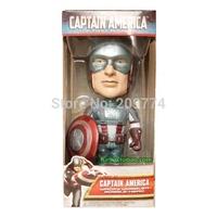 FUNKO WACKY WOBBLER Marvel Captain America BOBBLE HEAD limited edition