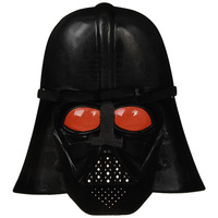 Hot selling Mask of Star Wars  Ansimilar Skywingker Costume in Darth Vader with Elastic Cord Straps - Black free shipping