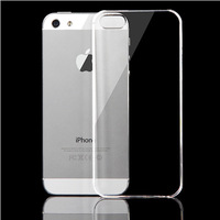 2014 New Ultra Thin For iPhone 4/4s/5/5s/5c Transparent Clear Crystal Ultra Thin Glossy Snap On Back Hard Case Cover Skin