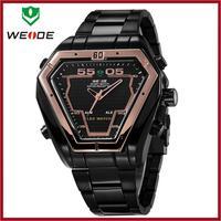 Fashion Gold Watches Men Luxury Brand WEIDE Relogio Masculino 2014 Reloj Hombre Geneva Military Watch Montre Homme Whatch Saat