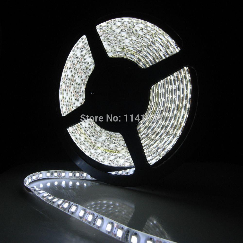 5m 3528 ip65 waterproof 600leds cool white led strip smd flexible light 120le. Black Bedroom Furniture Sets. Home Design Ideas