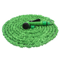 Free Gift Iphone  USB Cable 2014 Car WATER GARDEN water Pipe  pose Valve Garden hose 75ft Expandable blue/green water hose+gun