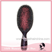 Free Shipping High Quality Fashion Professional Boar Bristle Detangling Hair Brush 1 Piece Hair Comb