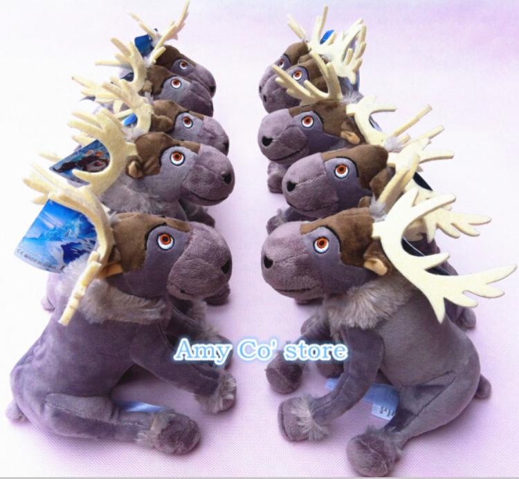 Nuovo arrivo congelati giocattoli, 20cm renna peluche Sven cervo farcito bambola congelati 5pcs/lot spedizione gratuita