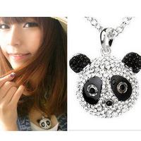 Super cute set auger panda necklace xl160