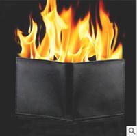 Wholesale 2015 Fire Magic wallet fashion men slim short small solid gents purse carteira masculina couro dropship Free Shipping