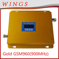 2014 New Model Gold GSM960 65dBi 900MHz Dual Band Mobile Signal Repeater/Booster/Amplifier