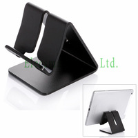 Universal Premium Aluminum Metal Mate Mobile Phone Tablet Desk Holder Stand for iPhone for Samsung Smartphone Kindle Tablets