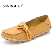 2014 Women Flats Shoes Woman Genuine Leather Mother Shoes Moccasins Women's Soft Leisure Flats Loafers Sapatos Femininos 2065