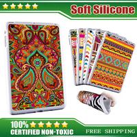 Silicone Case for ipad mini 2 Aztec Cover for ipad mini 2 Rubber housing mini2 Soft New white