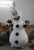 Olaf mascot costume Adult size Olaf mascot costume Olaf mascot costume Free shipping