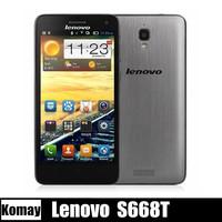 Original Lenovo S660 MTK6582 Quad Core mobile phone 4.7'' IPS 3000mah battery Dual sim 8MP 1GB RAM 8GB ROM Android 4.2 WCDMA