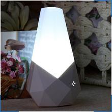High Quality LED Sensor Lights Livingroom Wall Lamp Sound+Infrared Sensor Night Light baby Lamps abajur 110 To 220V,With EU Plug(China (Mainland))