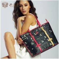 Danny Bear Khaki Black Women Handbags Totes Shoulder Bags Fashion Shopping Bags Women Clutches db13629-25