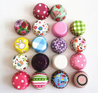 Free Shipping 1000Pcs/lot Mini Cupcake Liners Baking Cups Muffin Cup Cake Boxes Party Decorations