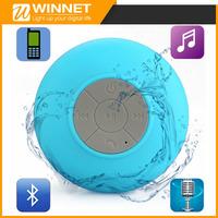 Mini Hifi Waterproof Wireless Bluetooth Handsfree Mic Suction Speaker Shower Car Bathroom