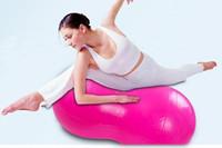Free Shipping 80CM*45CM Peanut And Capsule Exercise Fitness Massage Aerobic Yoga Ball Sensory Integration Training Equipment