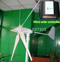 High Efficiency 800W 24V Wind Generator,Turbine,Windmill,Electromagnetic Brake,1400w Controller 800W Wind+700W Solar