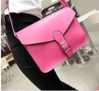 New 2014 Designer Handbag Satchel women leather handbags lovely women messenger bags candy color women handbag
